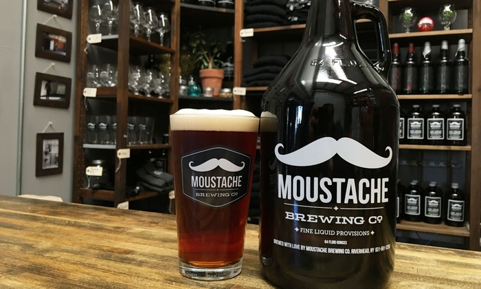 Moustache Brewing Co. - Moustache Brewing Co.: Beer Tasting Package for Two or Four at Moustache Brewing Co. (Up to 39% Off)