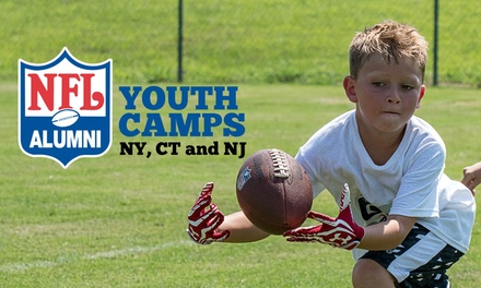 5-Day, Full- or Half-Day New York NFL Alumni Youth Football Camp (Up to 20% Off)