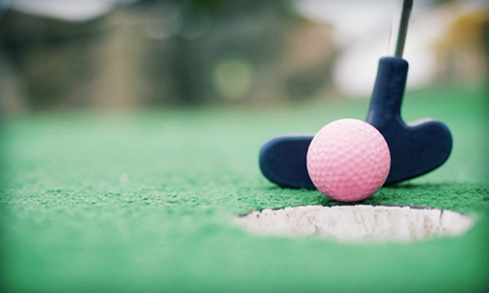 The Golf Dome - Chagrin Falls: $12 for Four Rounds of Mini Golf or 24 Batting-Cage Tokens at The Golf Dome (Up to $24 Value)