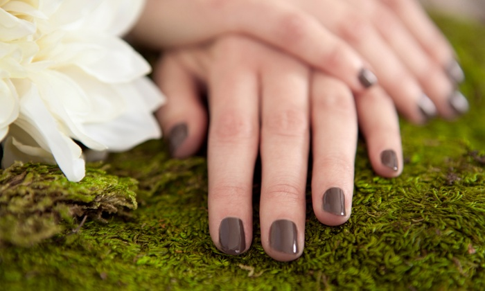 Huntsville Nails - Sunsational Hair Salon: Two Shellac or Basic Manicures at Huntsville Nails (Up to 66% Off)