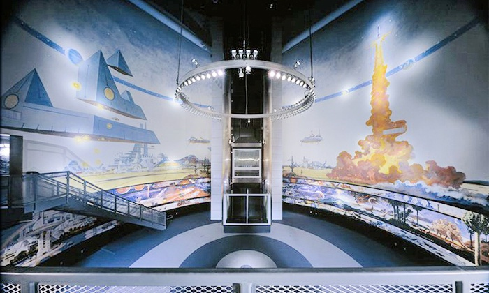 Challenger Space Center - Challenger Space Center and Museum: Admission, Family Star Night, Space Tots Class, or Space Simulation at Challenger Space Center  (Up to 41% Off)