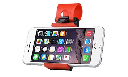 Steering Wheel Mobile Phone Holder