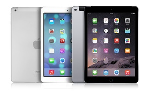 """Apple Ipad Air 16gb Or 32gb Wifi + Cellular 4g Tablet With 9.7"""" Retina Display (gsm Unlocked) (manufacturer Refurbished)"""