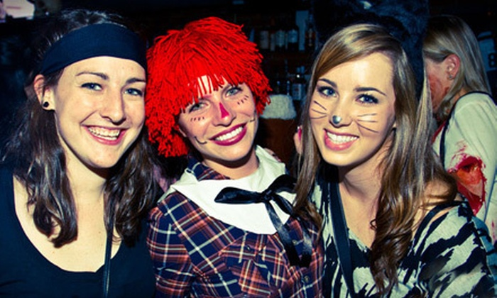 Pubcrawls.com - Central Raleigh: 1, 2, or 4 Entries to Two-Day Halloween Pub Crawl from Pubcrawls.com (Up to 69% Off)