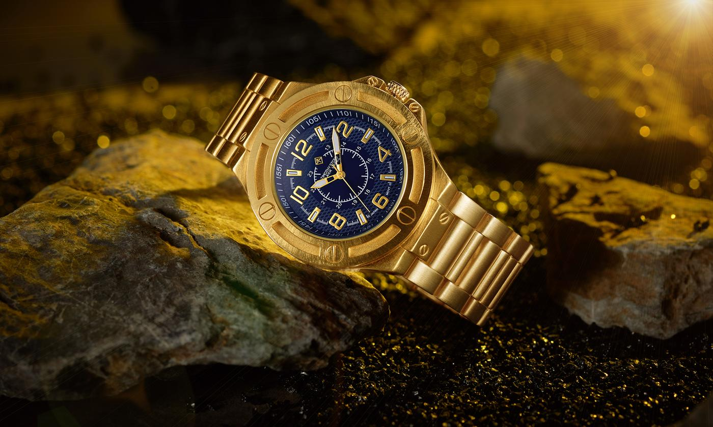 One or Two Timothy Stone Men's Watches With Free Delivery (£10.99)