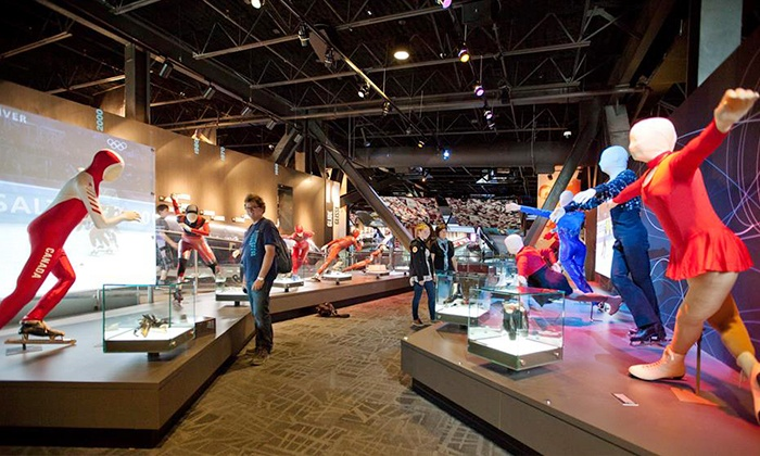 Canada's Sports Hall of Fame - Canada Olympic Park: Family Admission for Two Adults and Two Kids to Canada's Sports Hall of Fame (Up to 46% Off)