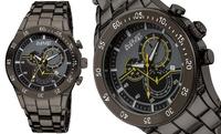 GROUPON: Men's Designer Chronograph Bracelet Watch Men's Designer Chronograph Bracelet Watch