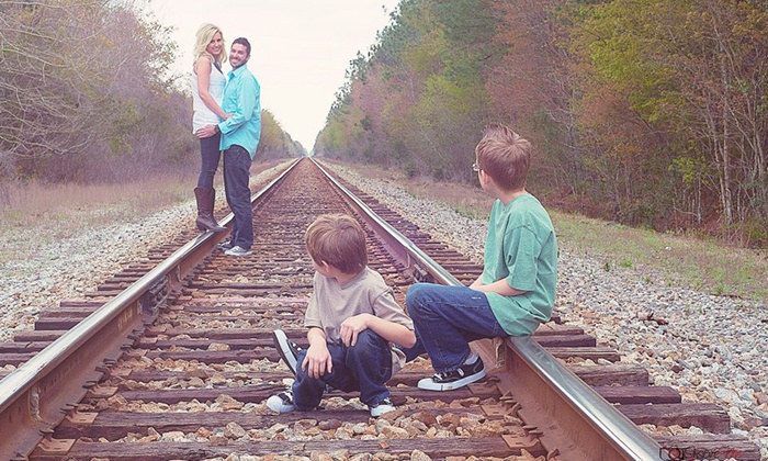 InspireMe Photography - Charleston: 30-Minute On-Location Family or High-School-Senior Session with Digital Image from InspireMe Photography (Up to 72% Off)