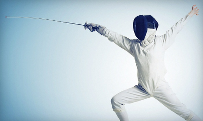 Stamford Fencing Center - West Side - Waterside - South End: $20 for Two Group Fencing Lessons at Stamford Fencing Center ($130 Value)