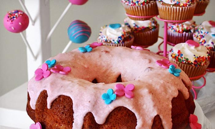 Enchanting Creations - Miami Shores: One or Two Dozen Gourmet or Designer Cake Pops or Cupcakes or One Bundt Cake at Enchanting Creations (Up to 56% Off)
