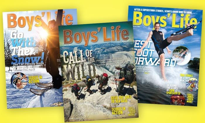 Boys' Life Magazine: 1-Year Boys' Life Magazine Subscription. Free Shipping.