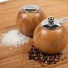 Core Bamboo Globe Salt Shaker and Pepper Mill Set