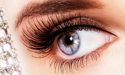 Full Set of Mascara-Look Eyelash Extensions or Volume Lashing at The Lash Loft (Up to 61% Off)