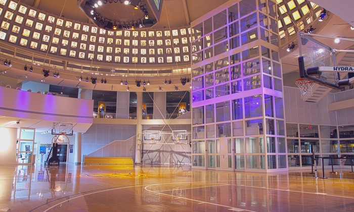 Naismith Memorial Basketball Hall of Fame - South End: Naismith Memorial Basketball Hall of Fame Visit for 2, 4, 6, 8, or 10 (Up to 57% Off)