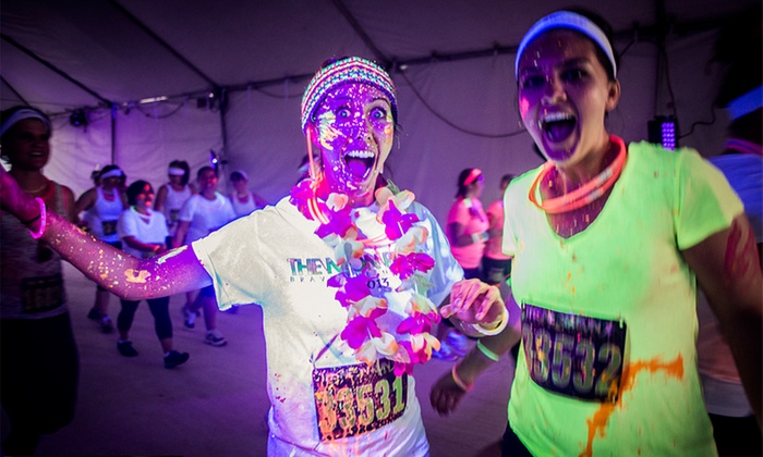 The Neon Run - Rawhide : $27 for One Entry to The Neon Run 5K on Saturday, May 16 ($54 Value)
