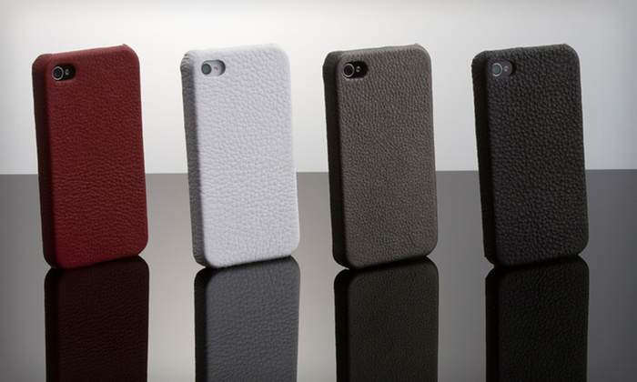 Wilsons Leather iPhone 4/4S or 5 Case: $6 for a Wilsons Leather iPhone 4/4S or 5 Case in Black, Pewter, Red, or White ($24.99 List Price)