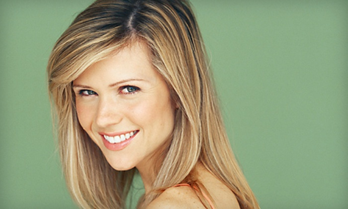 Endless Summer Salon & Tan - Newark: Haircut and Blow-Dry with Deep Conditioning or Face-Framing Highlights at Endless Summer Salon & Tan (Up to 55% Off)