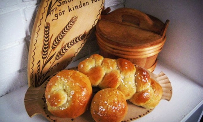 Swede-a-Licious - East Greenwich: Basic or Deluxe Swedish Pastry Samplers from Swede-a-Licious (Up to 53% Off)