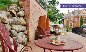 French Restaurant at the Henderson Castle: Wine Tasting and Architectural Tour for Two or Four at the Henderson Castle Winery (Up to 55% Off)