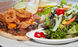 The Sherlock Holmes Pub: Gastropub Food for Lunch or Dinner at The Sherlock Holmes Pub (Up to 43% Off). Four Options Available.