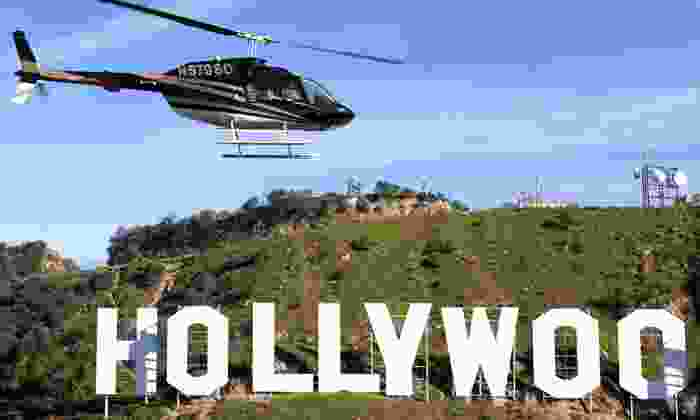 Star Helicopters - Hawthorne: Night Helicopter Tour for Two or Three from Star Helicopters (Up to 53% Off)
