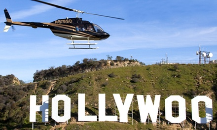 Night Helicopter Tour for Two or Three from Star Helicopters (Up to 53% Off)