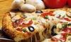 Mimmos Rosebank - Mimmos Rosebank: Any Large Pizza or Pasta from R110 at Mimmos Rosebank (Up to 55% Off)