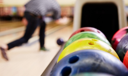 Two Games of Bowling with Burger Meal for Two or Four at M18 Lanes (Up to 80% Off)