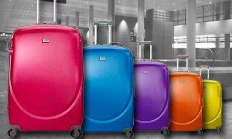 Set de 3 maletas trolley de ABS Oferta en Groupon