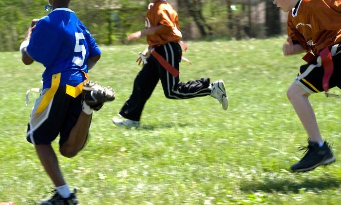 Ottawa Youth Flag Football League - Fisher Park: Up to 50% Off Youth Flag Football Leauge  at Ottawa Youth Flag Football League