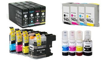 Set of Compatible Ink Cartridges