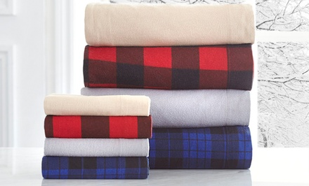 Sunbeam Classic Collection 100% Turkish Flannel Sheet Sets