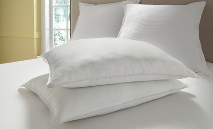 2-Pack of Dual-Comfort Reversible Memory-Foam to Down-Alternative Pillows