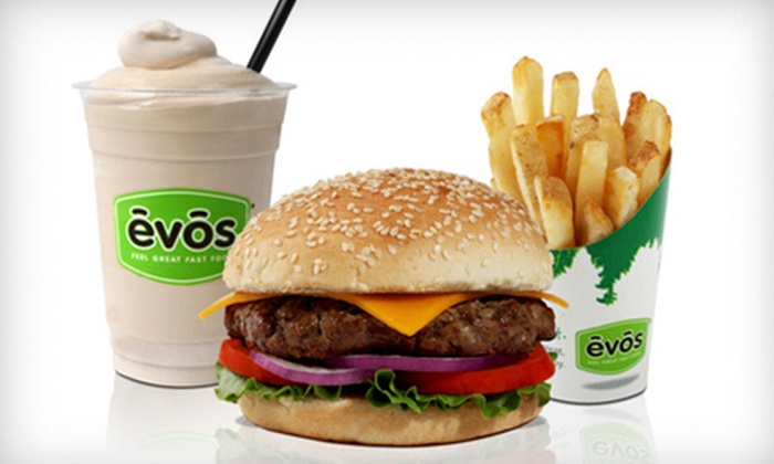 EVOS - Sandy Springs: Healthy American Meal for Two or Four at EVOS (Up to 56% Off)