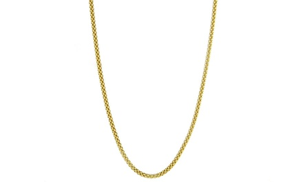 Solid 14K Gold Unisex Popcorn Chain from $159.99 to $289.99