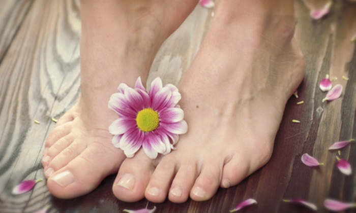 La Bella Belly Spa - Rockwall: One or Two Hot-Stone Pedicures or One Hot-Stone Mani-Pedi at La Bella Belly Spa (Up to 63% Off)