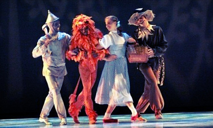 """Wizard of Oz"" presented by Ballet Memphis - Multiple Locations: ""Wizard of Oz"" Presented by Ballet Memphis at The Orpheum Theatre (Up to Half Off). Six Options Available."