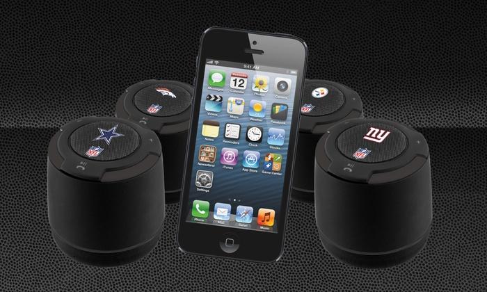 819d64280b8db0 Portable NFL Bluetooth Speaker | Groupon