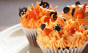 Iced Yorkshire: Halloween Cupcake Decorating Class for One Adult and One Child at Iced Yorkshire