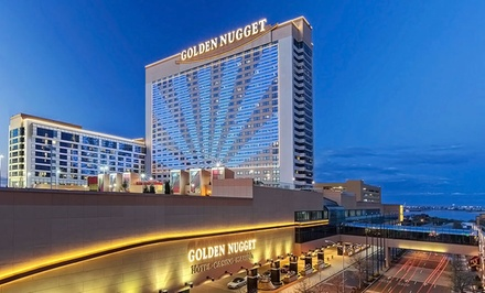 Stay with Spa Passes and Self-Parking at Golden Nugget Hotel in Atlantic City, NJ. Dates into June.