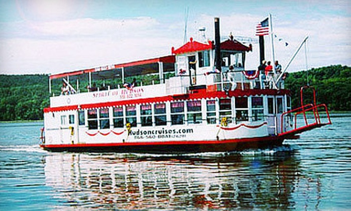 Hudson Cruises - Hudson: $25 for Sightseeing Cruise for Two from Hudson Cruises ($50 Value)