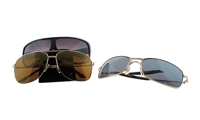 Fantas-Eyes Men's Sport Sunglasses: Fantas-Eyes Men's Sport Sunglasses. Multiple Styles Available. Free Shipping and Returns.