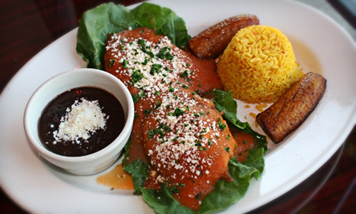 Tikal Restaurant - Monterey Hills: Guatemalan Food at Tikal Restaurant (Half Off). Two Options Available.