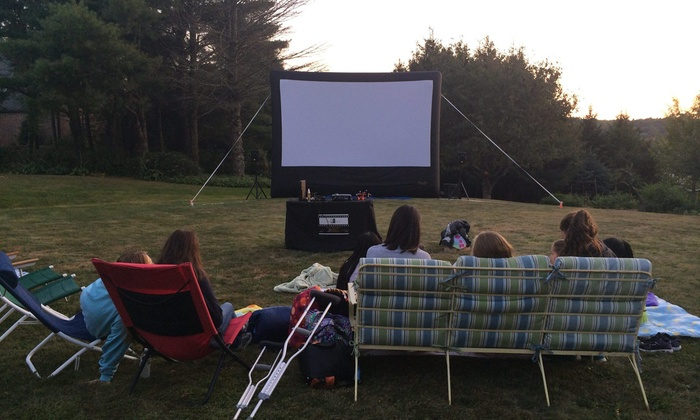 Film Force, Llc - New Hartford: $275 for One 16-Foot Screen EventfromFilm Force, LLC $500