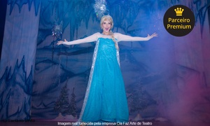 Cia Faz Arte de Teatro: As Princesas do Gelo – Teatro Ipanema: ingresso individual