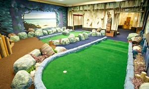 Paradise Island Adventure Golf - Livingston: Paradise Island, Livingston: 18 Holes of Adventure Golf For Two (£8) or Four (£13) People (Up to 48% Off)
