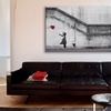 Banksy Street Art on Gallery Wrapped Canvas