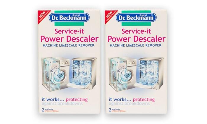 2 Sachets Service It Power Descaler Groupon Goods