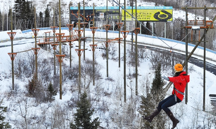Utah Olympic Park - Park City: Unlimited Winter Adventure Pass for Youth or Adult at Utah Olympic Park (Up to 50% Off)