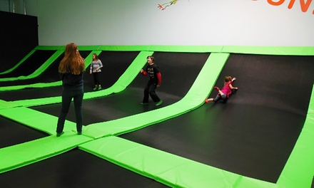 One Hour of Jump Time for Two or Four at Cool Springz Trampoline Park (Up to 48% Off). Two Options Available.